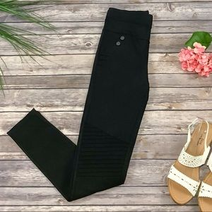Pants - New Black Moto Legging